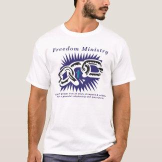 Camiseta logotipo do liberdade-ministério