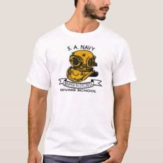 Camiseta logotipo do mergulhador