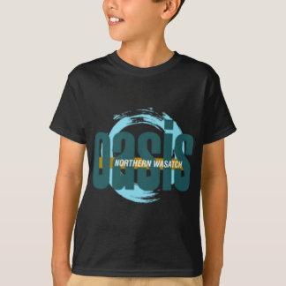 Camiseta Logotipo do norte dos oásis de Wasatch