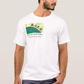 Camiseta LOGOTIPO do PRESENTE de Logo_300dpi, uma onda da