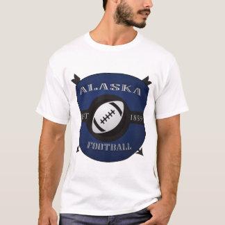 Camiseta Logotipo do protetor do futebol de Alaska