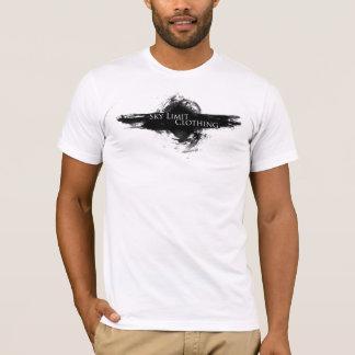 Camiseta Logotipo do redemoinho da roupa do limite do céu \