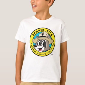 Camiseta Logotipo do rick da guarda florestal do rick | da