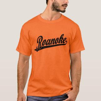 Camiseta Logotipo do roteiro de Roanoke no preto