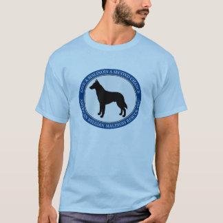 Camiseta Logotipo do salvamento de Malinois do t-shirt