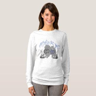 Camiseta Logotipo do salvamento do Keeshond de Alberta -