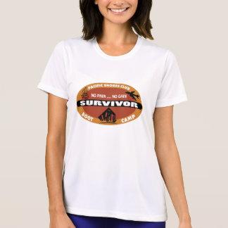 Camiseta Logotipo do sobrevivente do Bootcamp de Jin