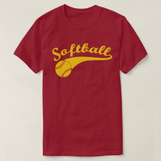 Camiseta Logotipo do softball