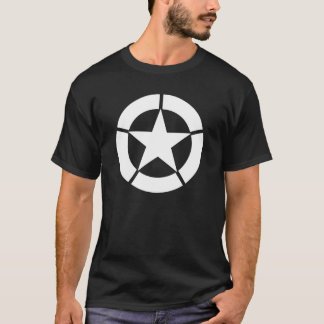Camiseta Logotipo do tanque dos E.U. WWII
