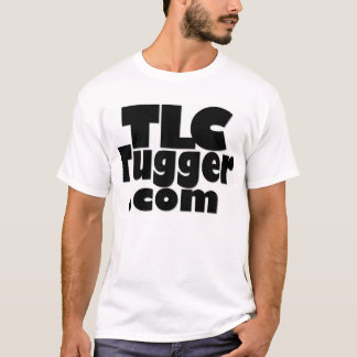 Camiseta Logotipo do TLC Tugger - parte traseira da