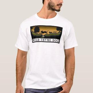 Camiseta logotipo do tomilho selvagem