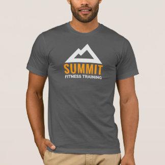 Camiseta Logotipo do treinamento da malhação da cimeira