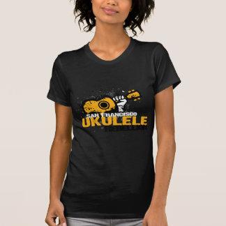 Camiseta logotipo do Ukulele do sf
