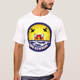 Camiseta Logotipo dos Sundowners Vf-111