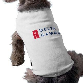 Camiseta Logotipo empilhado | da gama do delta