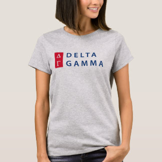 Camiseta Logotipo empilhado | da gama do delta