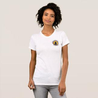 Camiseta Logotipo esperto do bolso da HASTE dos Cavewoman