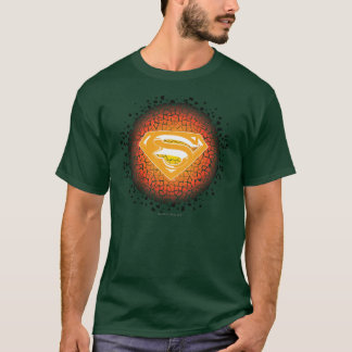 Camiseta Logotipo estilizado do Crackle do superman |