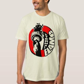 """Camiseta Logotipo eterno T da tocha da """"estátua da"""