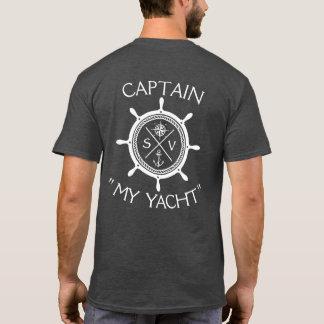 Camiseta Logotipo feito sob encomenda da embarcação de