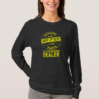 Camiseta Logotipo genuíno 2 das peças de GTO