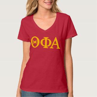 Camiseta Logotipo grande alfa de Lil da phi da teta