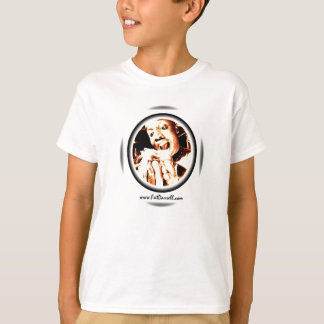 Camiseta Logotipo grande da mordida da T-Juventude (branco)