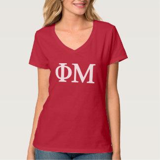 Camiseta Logotipo grande da MU Lil da phi