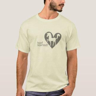 Camiseta Logotipo Hearted do Grayscale do casco com texto