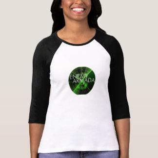 Camiseta Logotipo inimigo do radar de Aramda