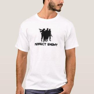 Camiseta logotipo inimigo perfeito