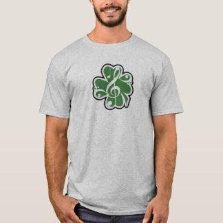 Camiseta Logotipo irlandês da música