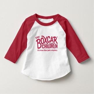 Camiseta Logotipo oficial das crianças do vagão coberto com