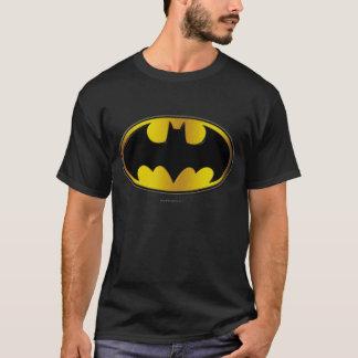 Camiseta Logotipo oval do inclinação do símbolo | de Batman