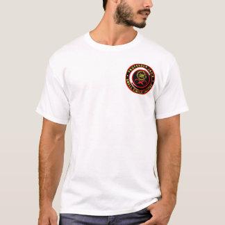 Camiseta Logotipo pequeno 1 do Jujitsu do círculo