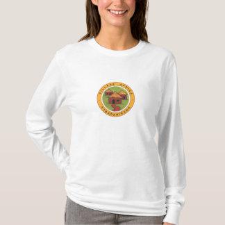 Camiseta Logotipo pequeno de África da vila hoody