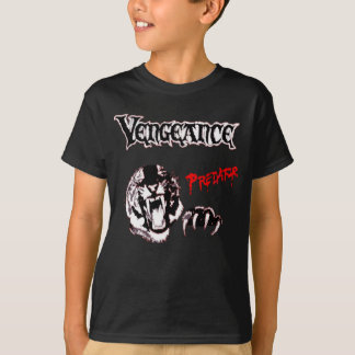 Camiseta Logotipo predador incorporado vingança