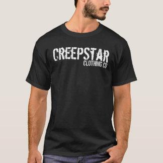 Camiseta Logotipo preto de CreepStar