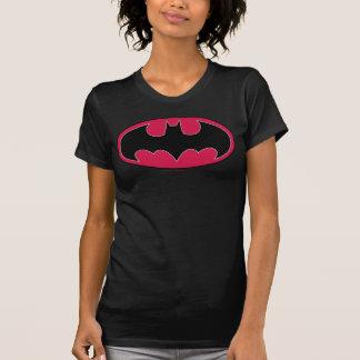 Camiseta Logotipo preto vermelho do símbolo | de Batman