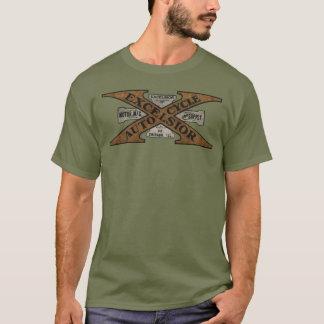 Camiseta Logotipo retro da motocicleta das maravalhas