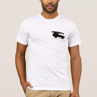 Camiseta Logotipo T da canoa da aventura - roupa americano