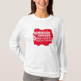 Camiseta Logro de Nes Gadol Haya para as mulheres