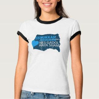 Camiseta Logro de Nes Gadol Haya para mulheres