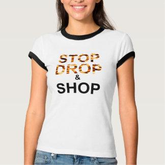 Camiseta Loja até que você deixar cair