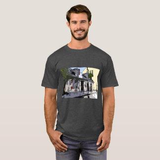 Camiseta Loja de Smith do preto do vintage do bairro