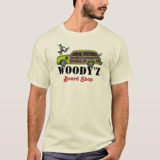 Camiseta Loja do conselho de WOODY'Z