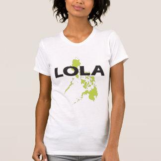 Camiseta Lola com o t-shirt do mapa de Filipinas