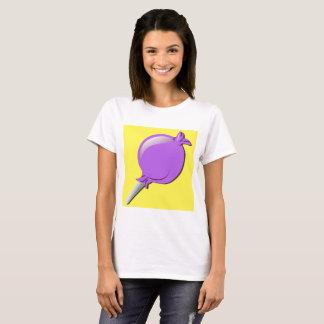Camiseta Lolly claro da bisbolhetice de Purp em a vida