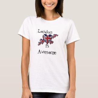 Camiseta Londres é t-shirt impressionante