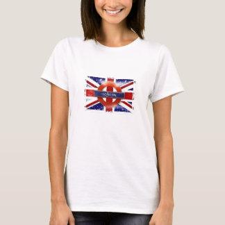 Camiseta Londres, Inglaterra, Great Britain Union Jack,